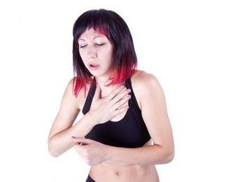 Breathing/Chest Problems Pancreatic Cancer Symptoms